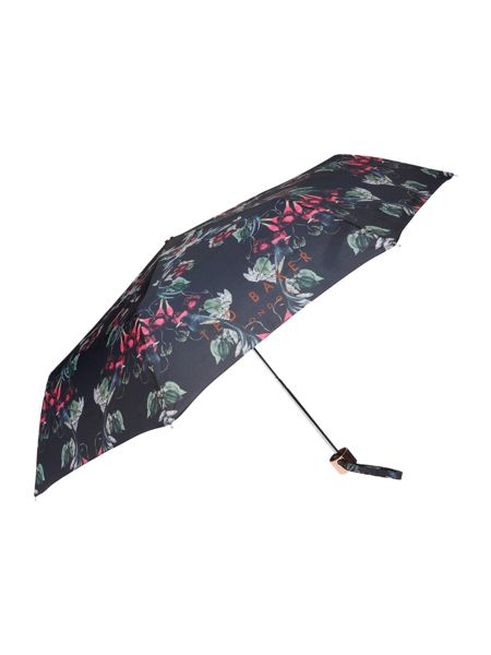 Ted Baker Irenna bayan bejewelled shadow print umbrella