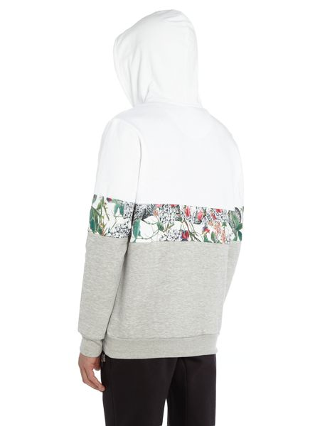 Hype British Garden Panel Hoodied Sweat Top
