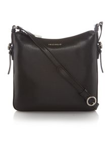 Coccinelle Mel black crossbody bag