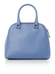 Coccinelle Dafne calf blue small dome cross-body bag