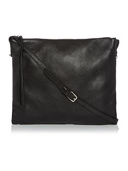 Mila black crossbody bag