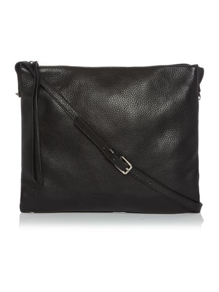 Coccinelle Mila black crossbody bag