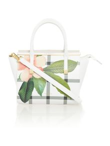 Ted Baker Trudy white tote bag