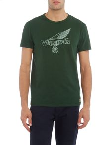 Polo Ralph Lauren Wimbledon graphic crew neck tshirt