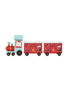 Linea Novelty train advent calendar