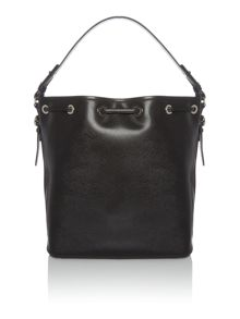 Coccinelle Mel black bucket bag