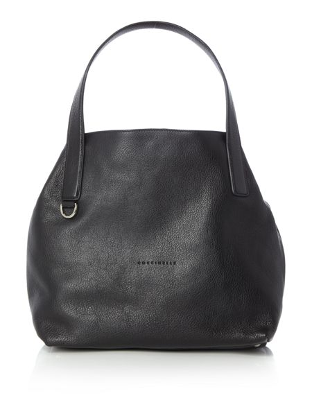 Coccinelle Mila black hobo bag