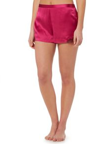 Ginia Silk short with lace detail