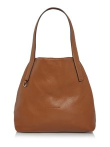 Coccinelle Mila tan hobo bag
