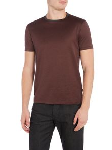 Hugo Boss Tessler Regular Fit Striped Mercerised T Shirt
