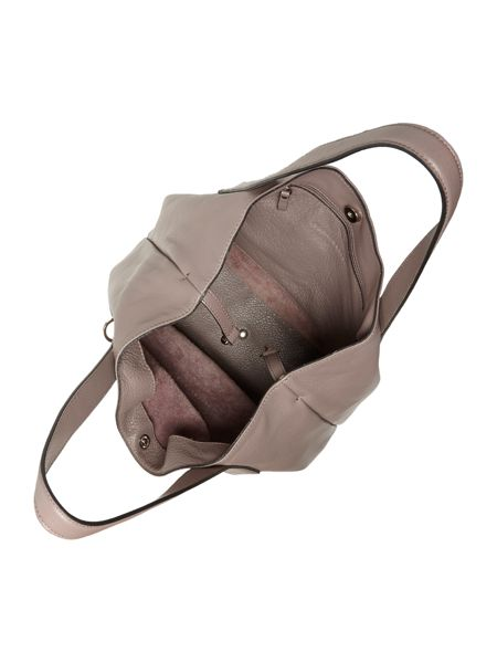 Coccinelle Mila taupe hobo bag