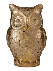 Linea Light up silver owl