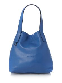 Coccinelle Mila blue hobo bag