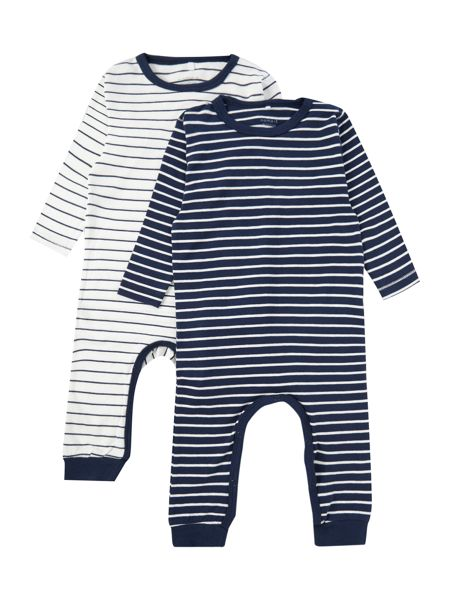 name it Babys All in One 2 Pack Stripe