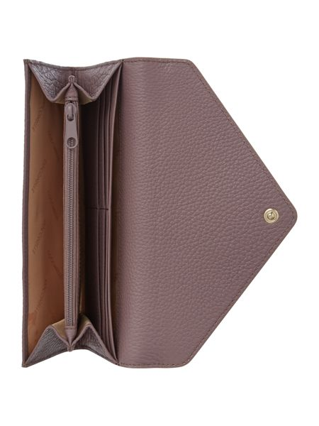 Coccinelle Taupe envelope flap over purse