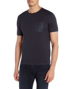Hugo Boss Tiburt Regular Fit Nylon Pocket Front T Shirt