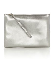 Coccinelle Best cross body silver pouch