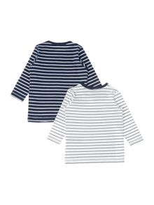 name it Babys 2 Pack Top With A Stripe