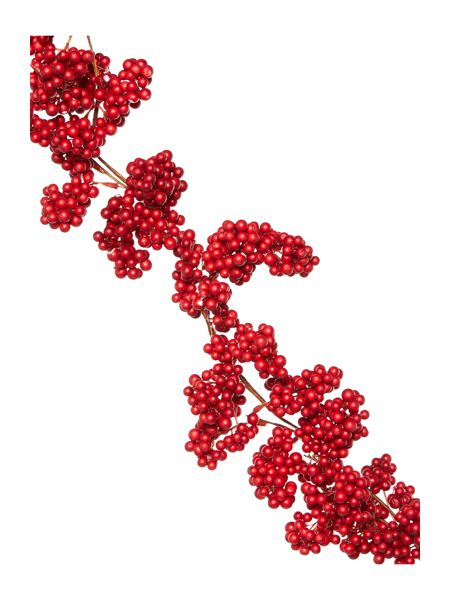 Linea Red berry garland