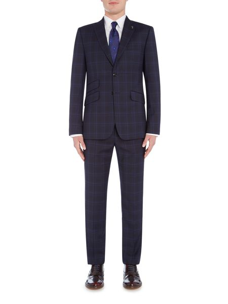 Ted Baker BRONTRO CHECK SUIT TROUSER
