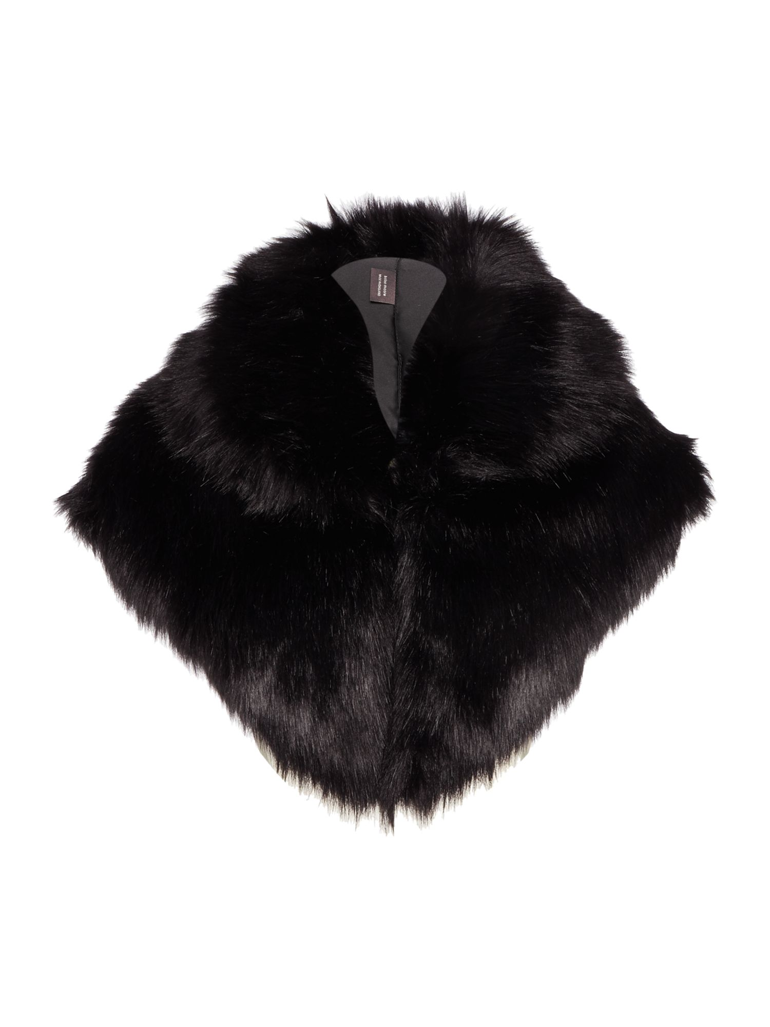 Helen Moore Helen Moore Gregory faux fur wrap, Black