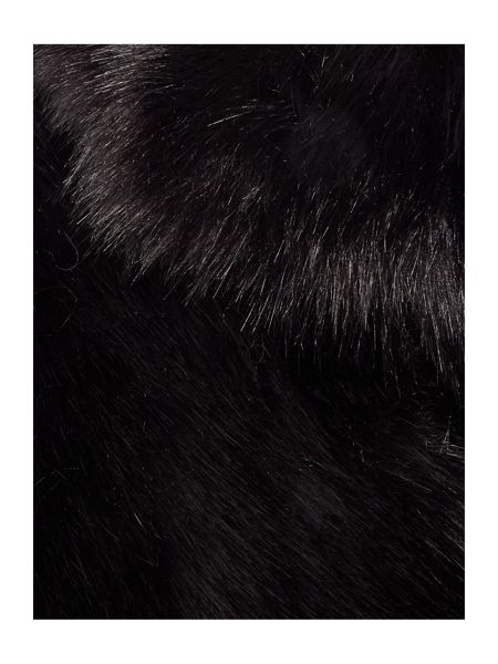 Helen Moore Gregory faux fur wrap