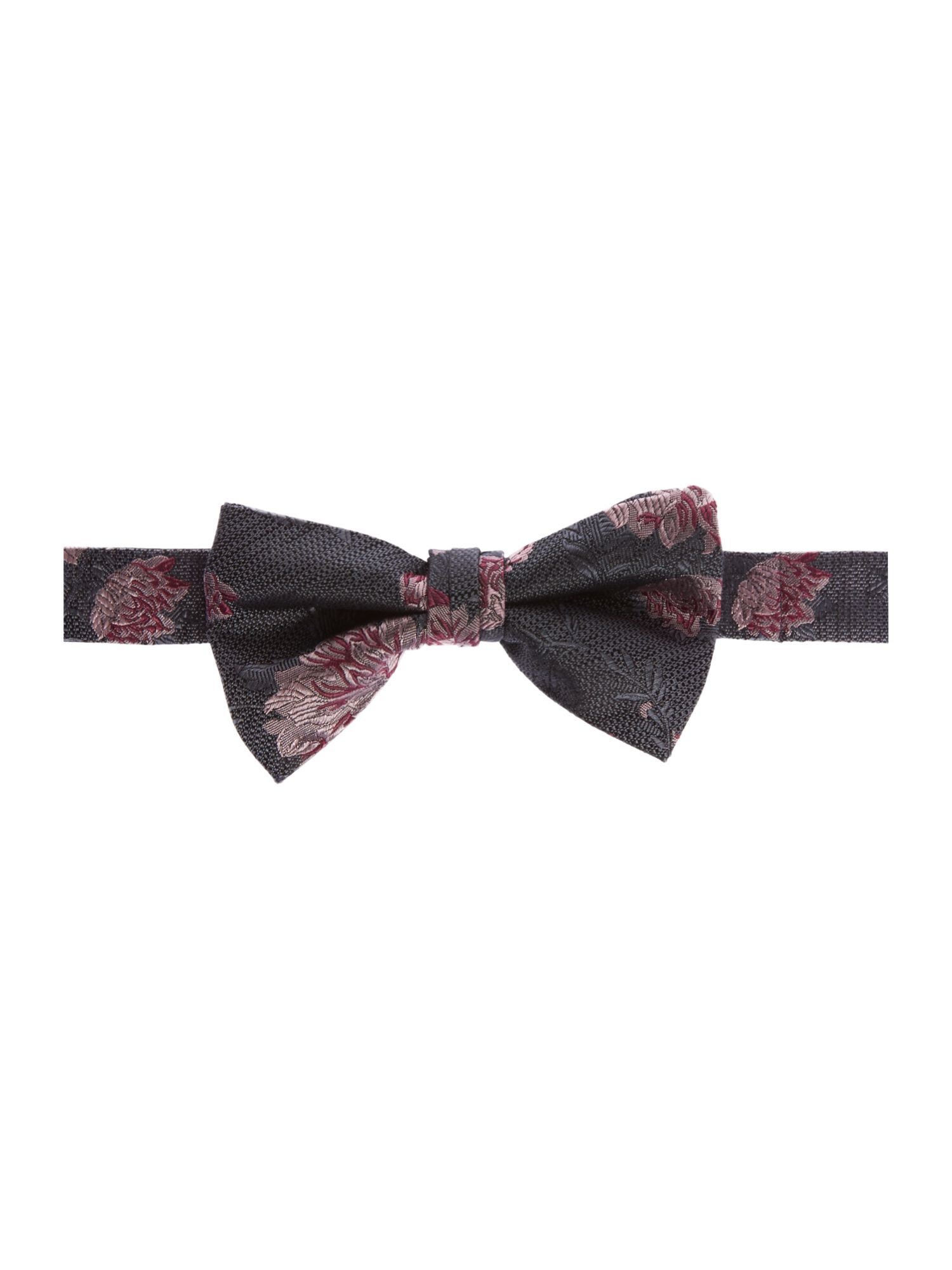 Ted Baker CANBOW FLORAL TIE Grey