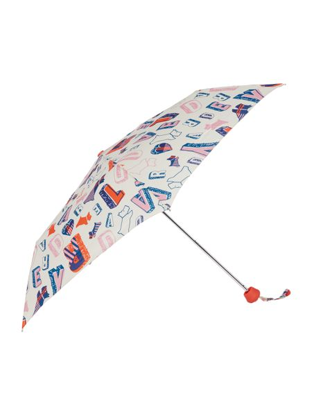 Radley Mini telescopic spell check umbrella