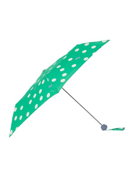 Radley Mini telescopic polka dog umbrella