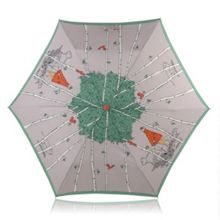Radley Mini telescopic leader of the pack umbrella