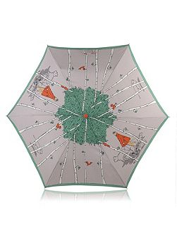 Mini telescopic leader of the pack umbrella