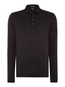 Hugo Boss Pado Regular Fit Mercerised Fine Stripe Polo