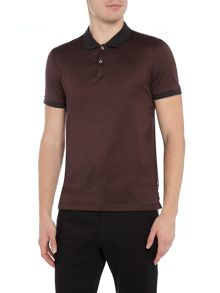Hugo Boss Penrose Regular Fit Mercerised Fine Stripe Polo