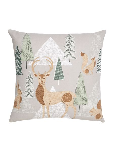 Linea Winter forest cushion
