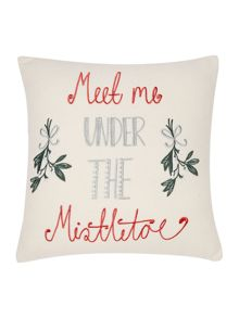 Linea Mistletoe cushion
