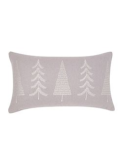 Festive tree cushion