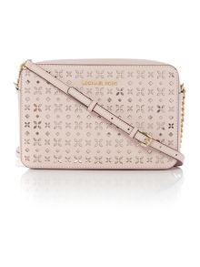 Michael Kors Jetset travel pink crossbody bag