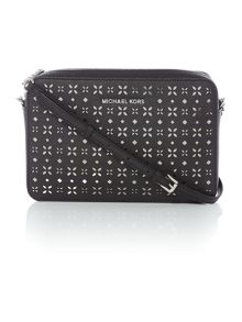Michael Kors Jetset travel black crossbody bag