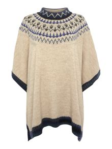 Barbour Icefield Printed Cape