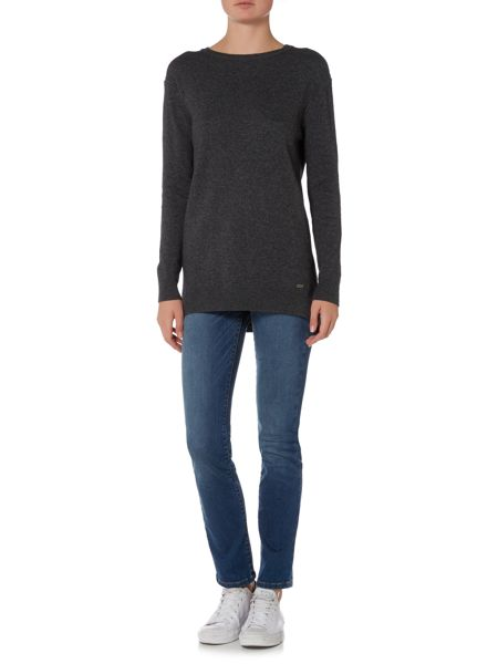 Barbour Meadowsweet cashmere mix crew neck jumper