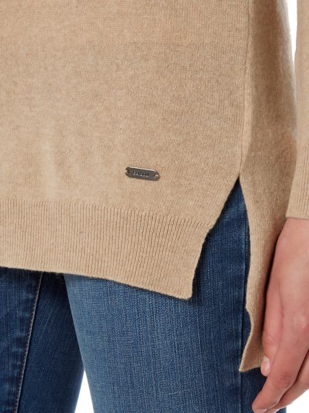 Barbour Saddleworth knit with funnel neck