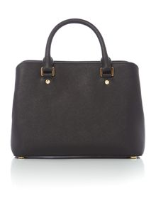 Michael Kors Savannah black medium tote bag