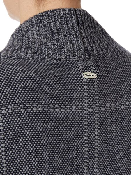 Barbour Tiree cashmere mix open cardigan