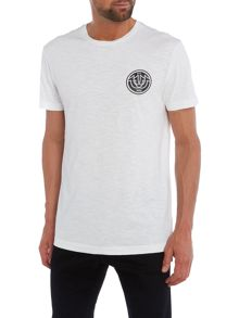 True Religion Interlock Horseshoe Logo Slub T Shirt
