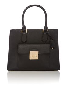 Michael Kors Bridgette black medium tote bag