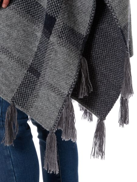 Barbour Nebit cape with tassels
