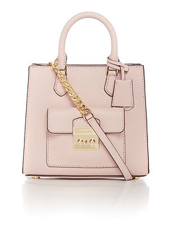Bridgette pink small cross body bag