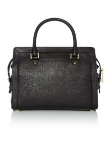 Michael Kors Collins black medium tote bag