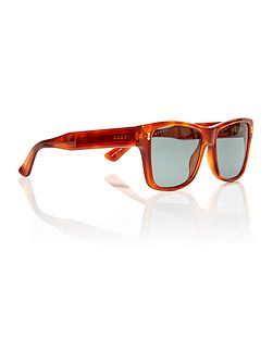 Tortoise rectangle GG 1149/S sunglasses