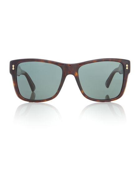 Gucci Tortoise rectangle GG 1149/S sunglasses